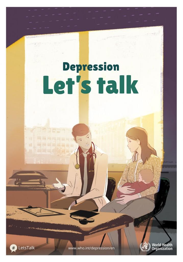 پوستر افسردگی در اروپا