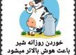 پوستر و تراکت شیر مدرسه